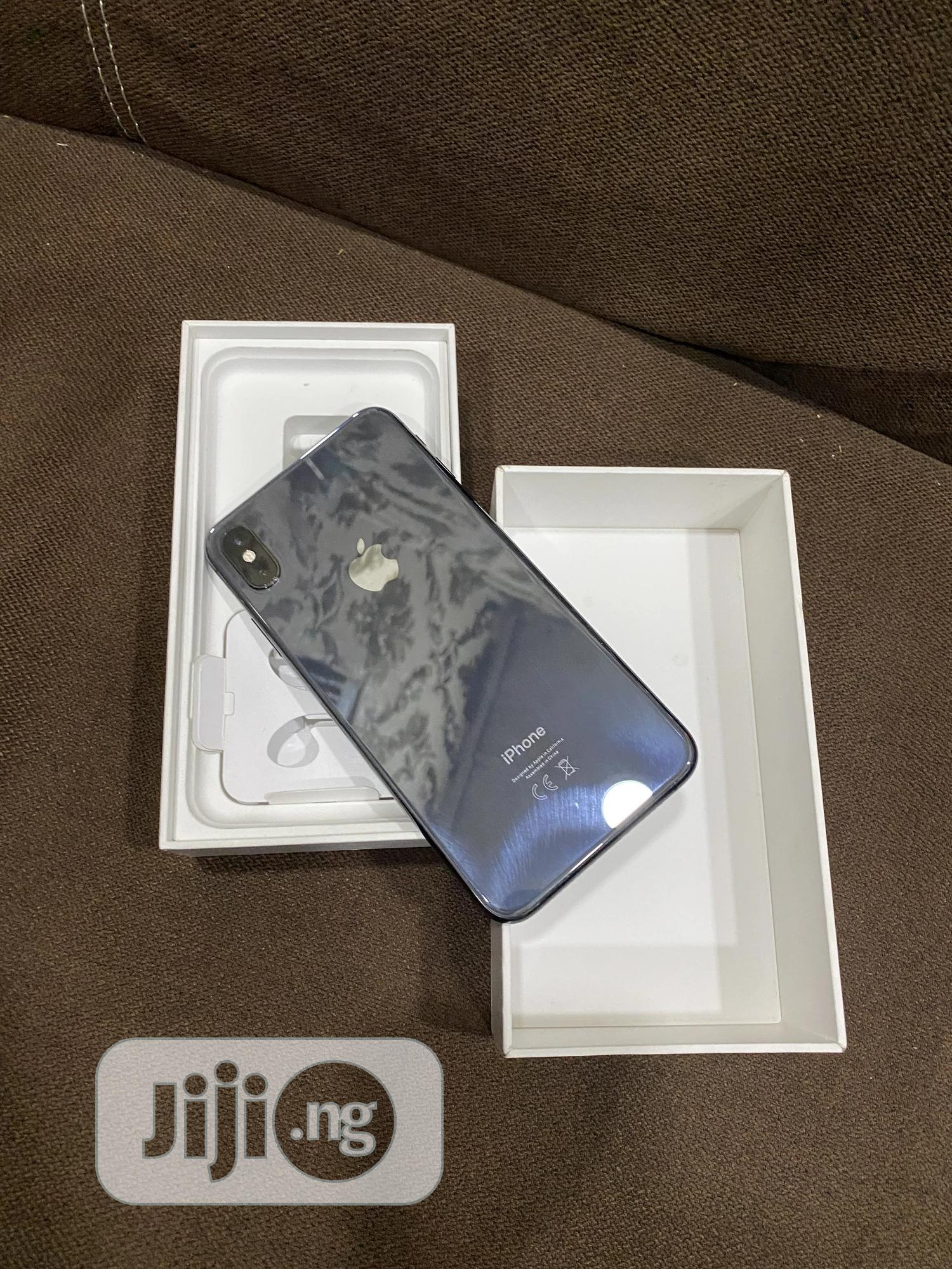 Apple iPhone XS Max 64 GB Black   Mobile Phones for sale in Ikeja, Lagos State, Nigeria