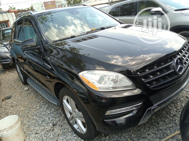 Mercedes-Benz M Class 2012 Black   Cars for sale in Garki 2, Abuja (FCT) State, Nigeria