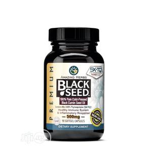 Black Seed Oil 500mg Softgel | Vitamins & Supplements for sale in Lagos State, Surulere