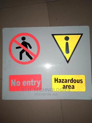 Safety Caution Sign | Safetywear & Equipment for sale in Lagos State, Ojodu