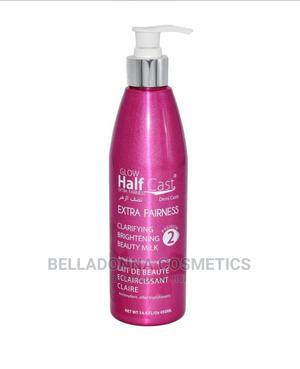 Glow Half Cast Extra Fairness Brightening Beauty Milk 450ml   Skin Care for sale in Lagos State, Ipaja