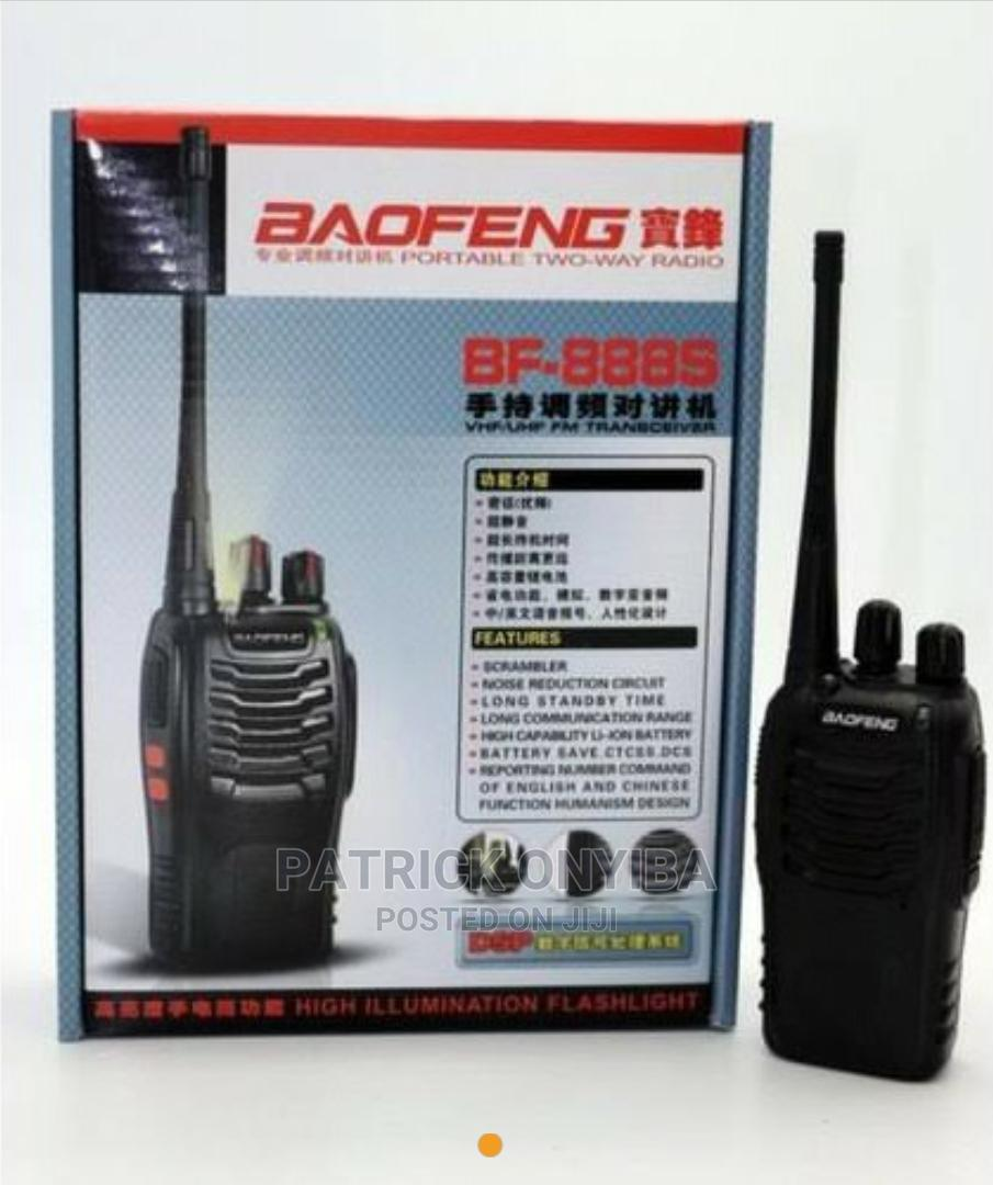 BAOFENG UV-5R Walkie Talkie   Audio & Music Equipment for sale in Wuse 2, Abuja (FCT) State, Nigeria
