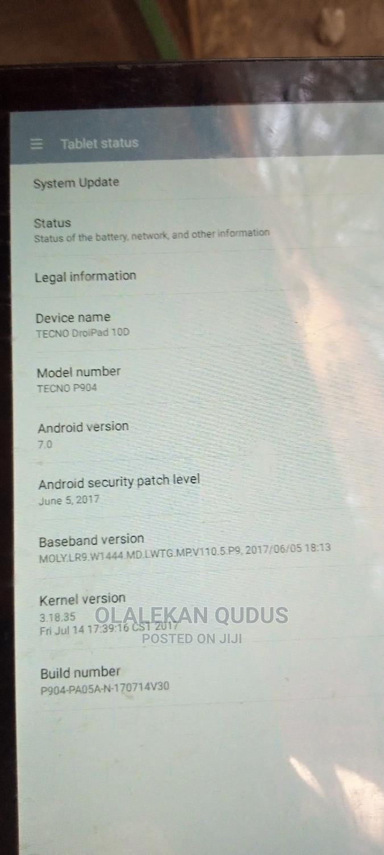 Tecno DroiPad 10D 16 GB Black | Tablets for sale in Kaduna / Kaduna State, Kaduna State, Nigeria