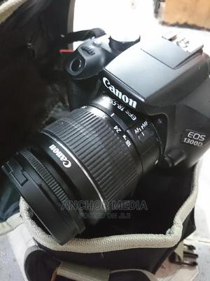Canon Eos 1300D With 18-55 Mm Lens   Photo & Video Cameras for sale in Lagos State, Ikeja