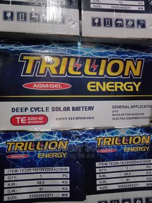 12V 200ahs Trillion Solar Battery   Solar Energy for sale in Lagos State, Ojo