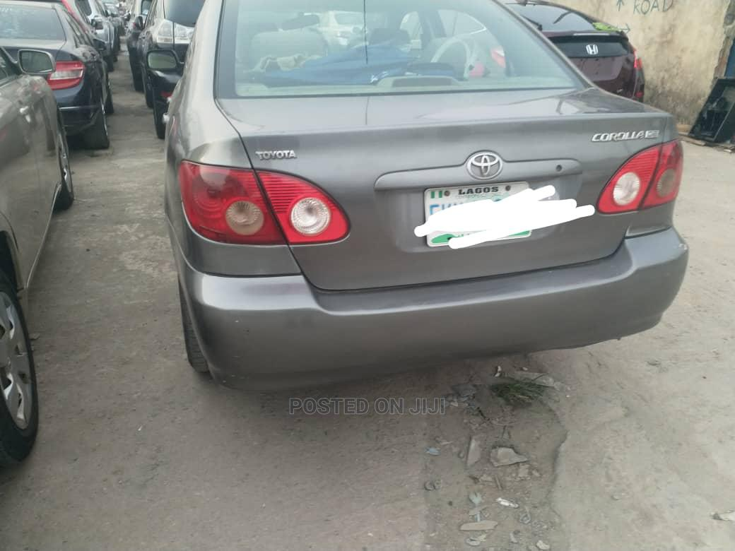 Toyota Corolla 2005 LE Gray | Cars for sale in Ikeja, Lagos State, Nigeria