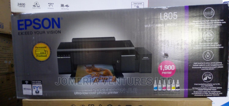Epson L805 Wi-fi Photo/Cd/Id Card Ink Tank Printer