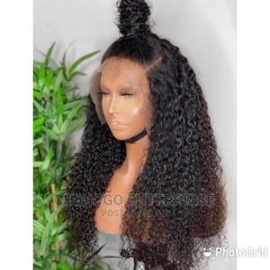 Quality Frontal Wig Purely Human Hair   Hair Beauty for sale in Lagos State, Ojo