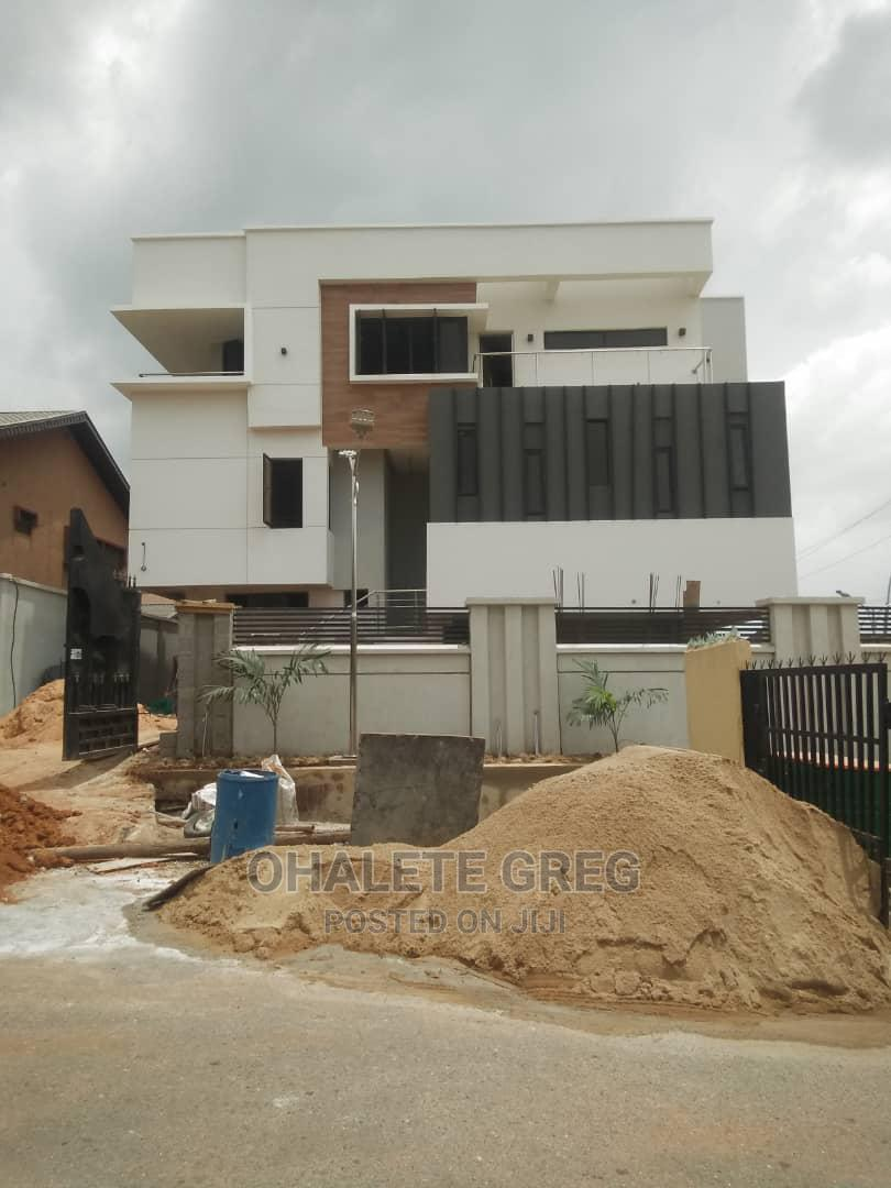 Archive: 5 Bedrooms Detached Mension With Bq at Omole Phase 1 GRA