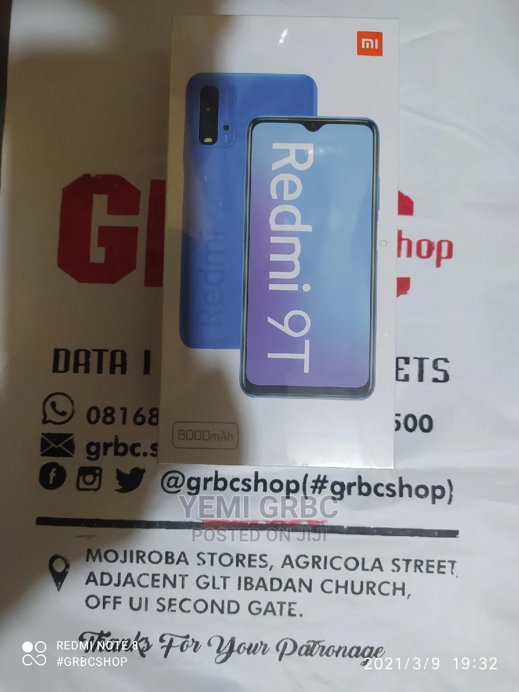 New Xiaomi Redmi 9T 128 GB Blue   Mobile Phones for sale in Ibadan, Oyo State, Nigeria