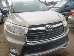 Toyota Highlander 2016 XLE V6 4x4 (3.5L 6cyl 6A) Brown | Cars for sale in Rivers State, Port-Harcourt