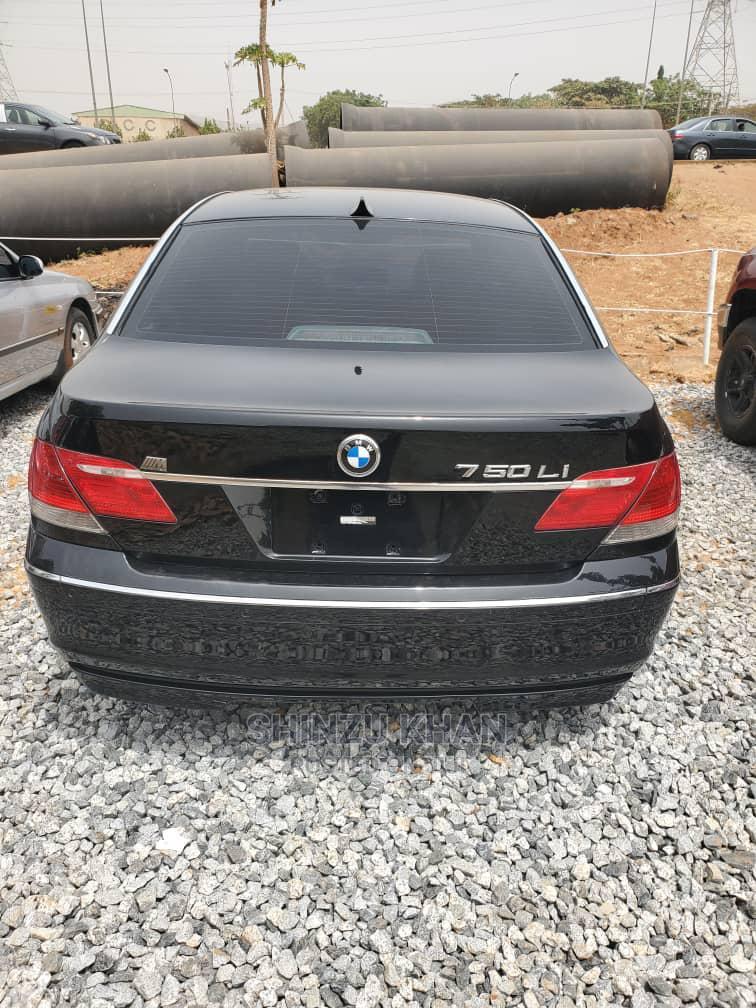 BMW 7 Series 2007 Black