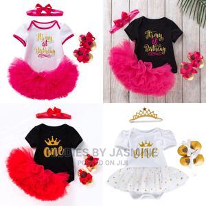 Girl Birthday 4 in 1 Costumr Set | Children's Clothing for sale in Lagos State, Alimosho