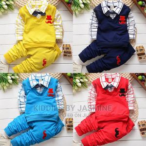 Boy Moustache Deisgn Clothing Set | Children's Clothing for sale in Lagos State, Alimosho