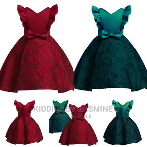 Girl Jacquard Design Ball Gown | Children's Clothing for sale in Lagos State, Alimosho