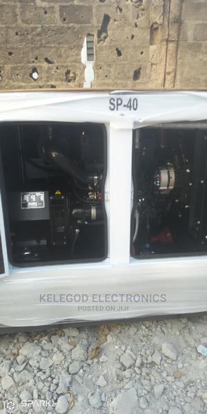 40 KVA Perkins Soundproof Diesel Generator | Electrical Equipment for sale in Lagos State, Surulere