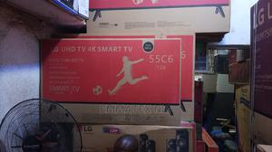 55 Inches LG Television Curved | TV & DVD Equipment for sale in Lagos State, Ojo