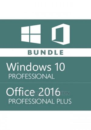 Windows 10 Pro + Office 2016 Pro Plus Keys | Software for sale in Lagos State, Ojodu