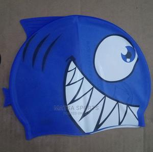 Swimming Cap (Blue)   Sports Equipment for sale in Lagos State, Surulere