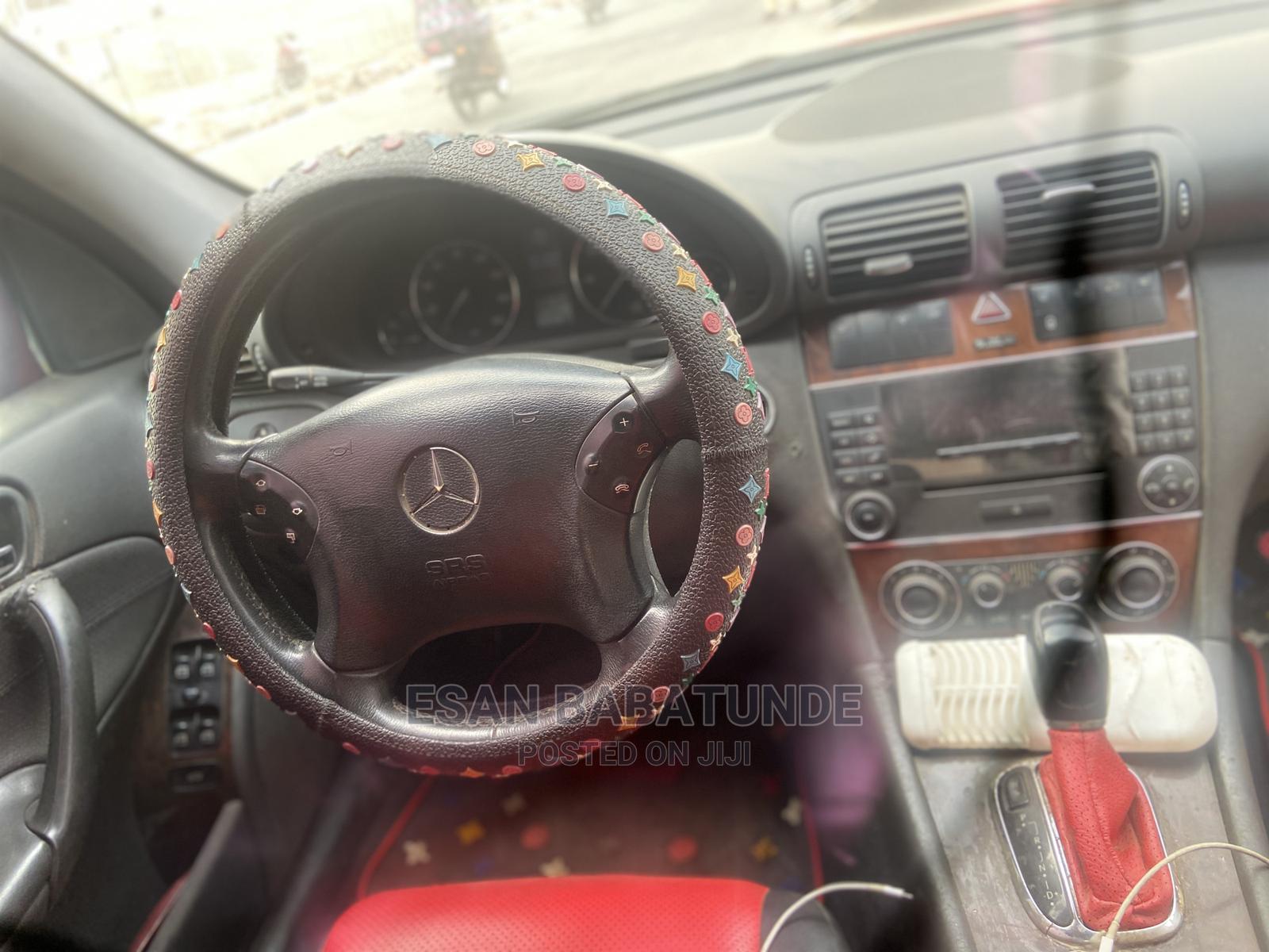 Mercedes-Benz C240 2003 Red