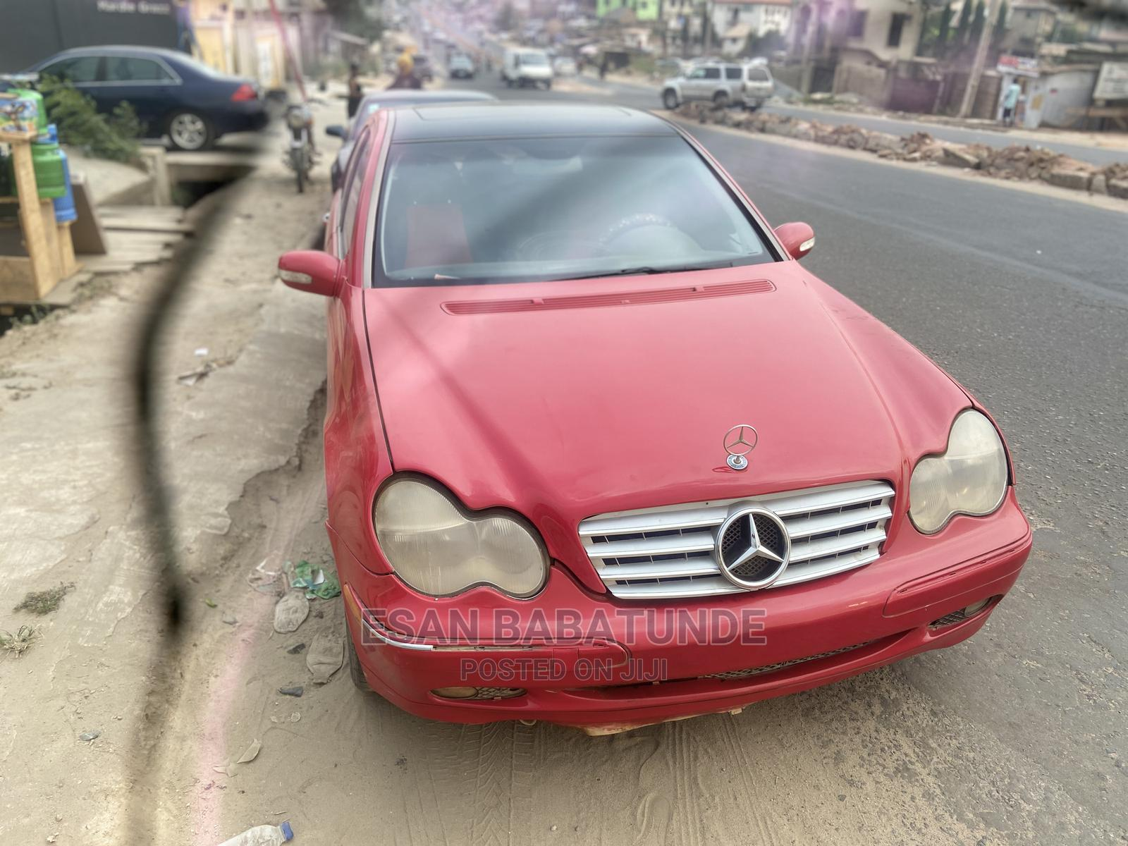 Mercedes-Benz C240 2003 Red | Cars for sale in Ibadan, Oyo State, Nigeria