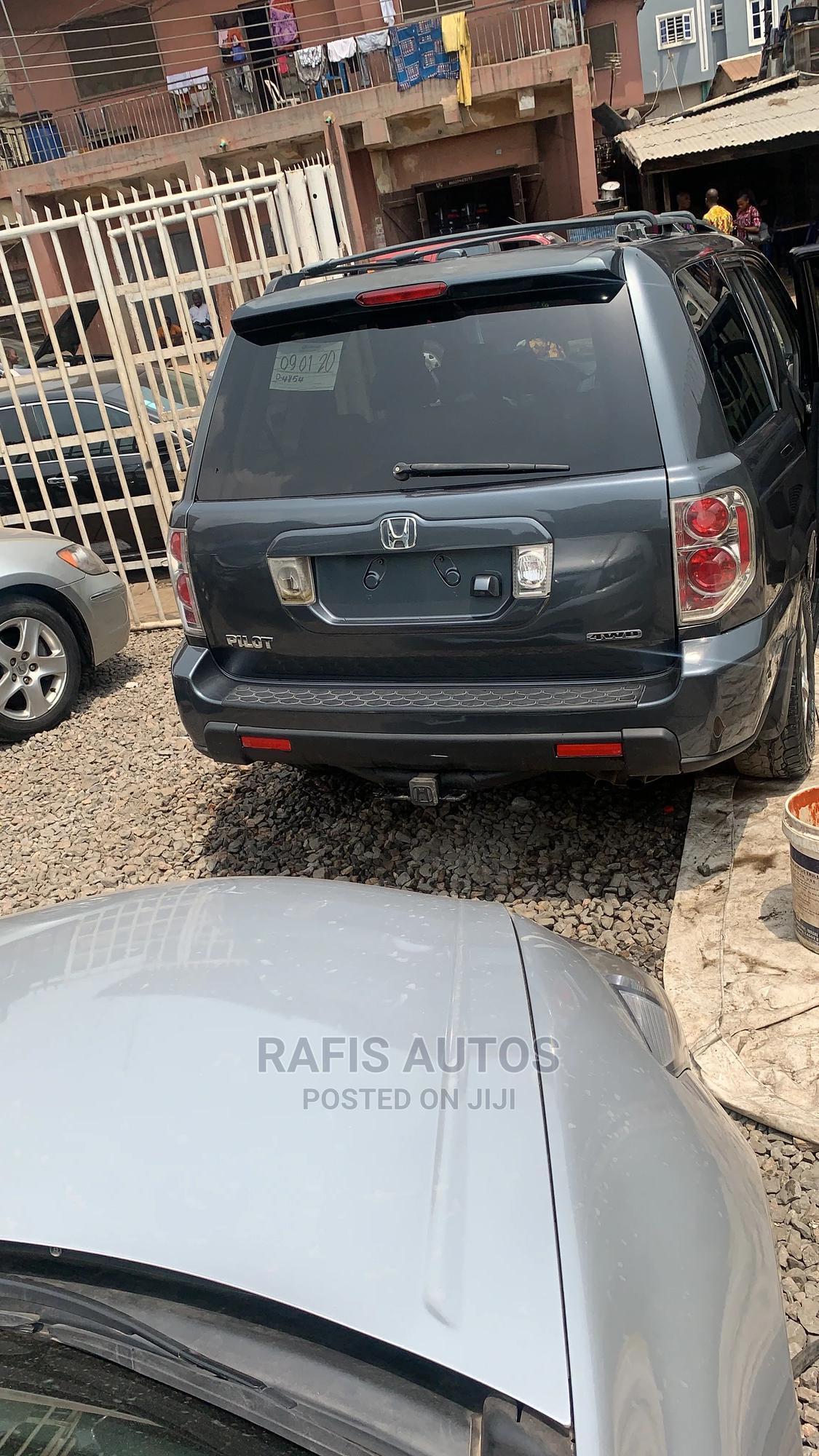 Honda Pilot 2006 EX-L 4x4 (3.5L 6cyl 5A) Gray | Cars for sale in Yaba, Lagos State, Nigeria