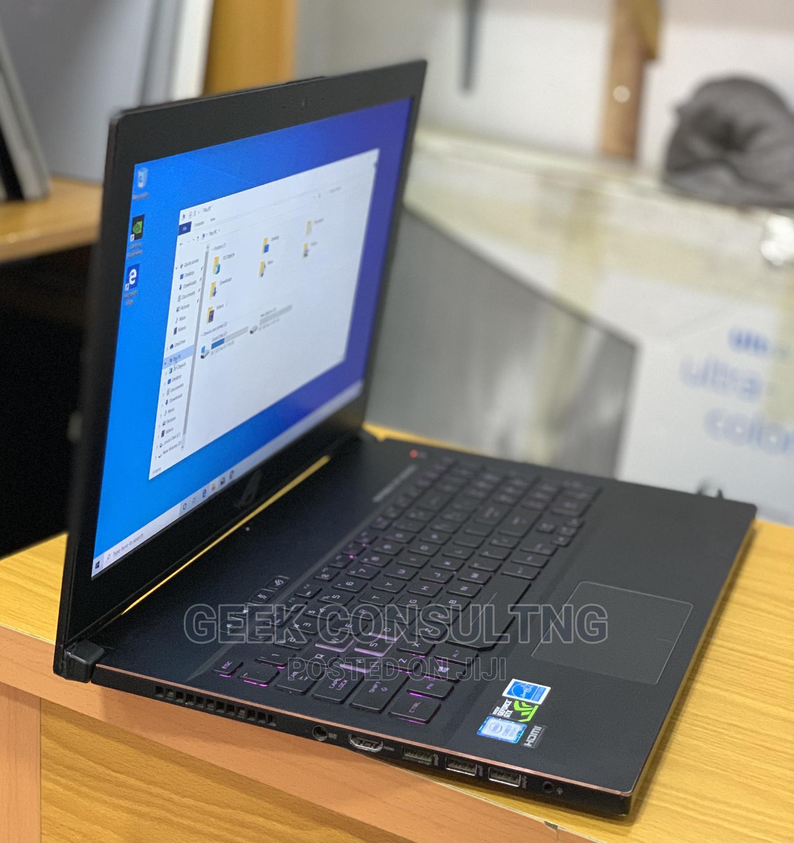 Laptop Asus 16GB Intel Core I7 SSHD (Hybrid) 1T   Laptops & Computers for sale in Ikeja, Lagos State, Nigeria