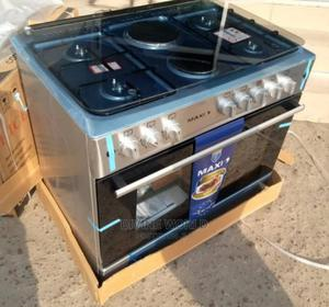 New Maxi Standing Gas (4+2) With Oven Automatic Ignition   Kitchen Appliances for sale in Lagos State, Ikeja