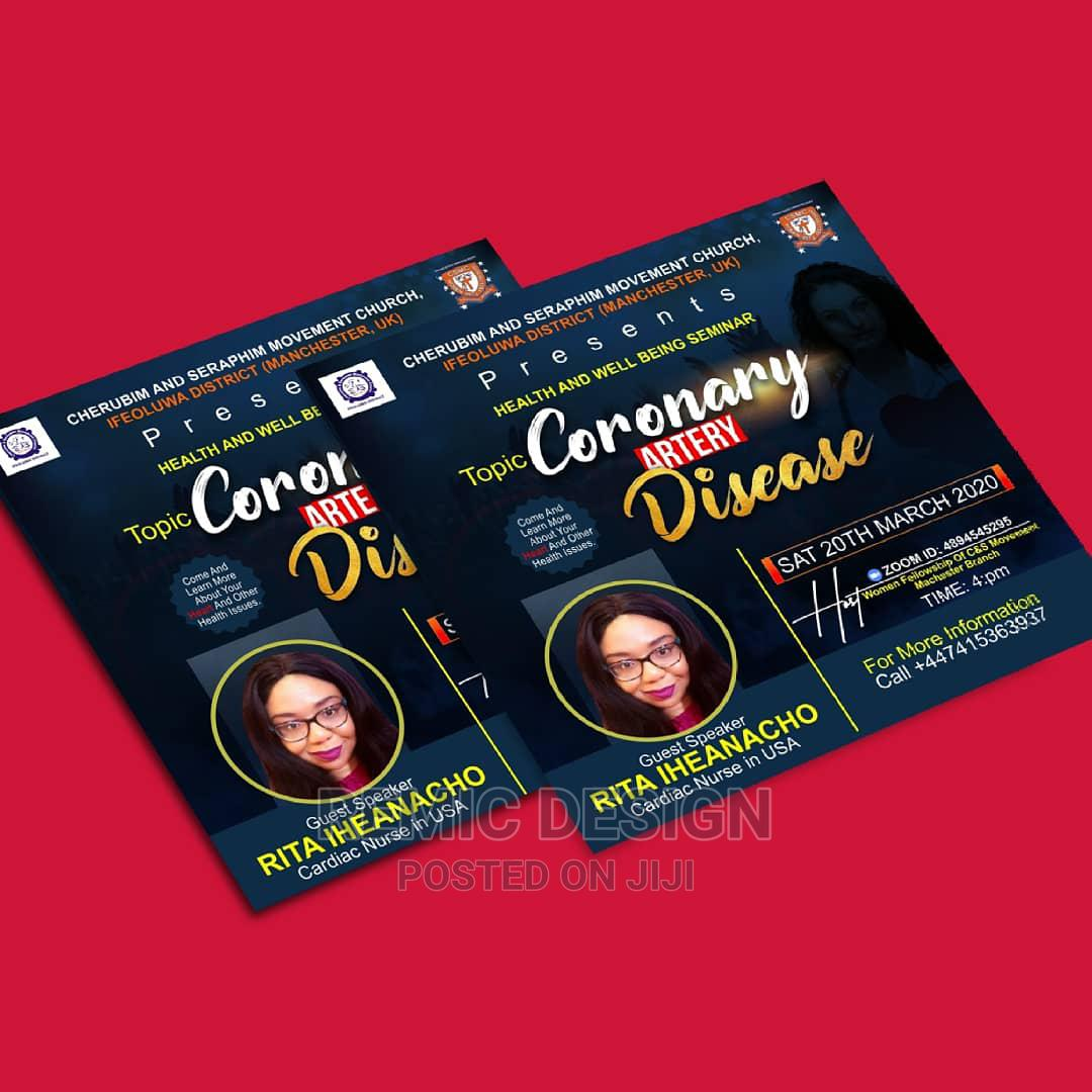 Flyer Design   Computer & IT Services for sale in Alimosho, Lagos State, Nigeria