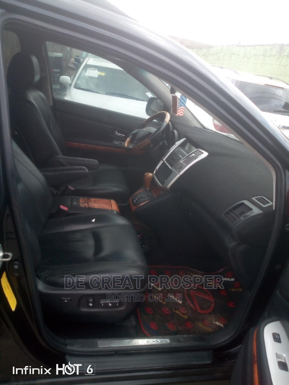 Archive: Lexus RX 2007 Black