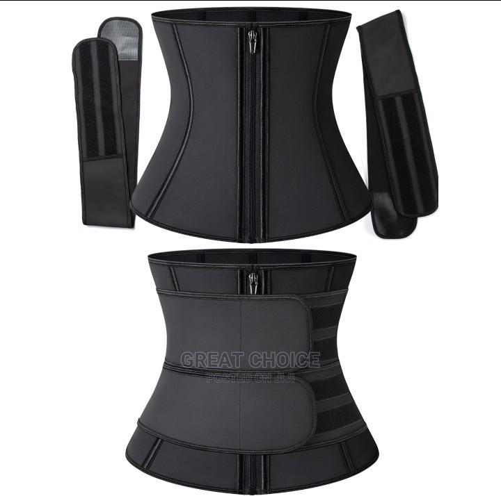 Latex Waist Trainer With Detachable Belt Tummy Control