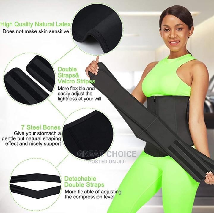 Latex Waist Trainer With Detachable Belt Tummy Control   Clothing Accessories for sale in Surulere, Lagos State, Nigeria