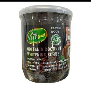 VEET GOLD Coffee and Coconut Body and Face Scrub | Skin Care for sale in Lagos State, Alimosho