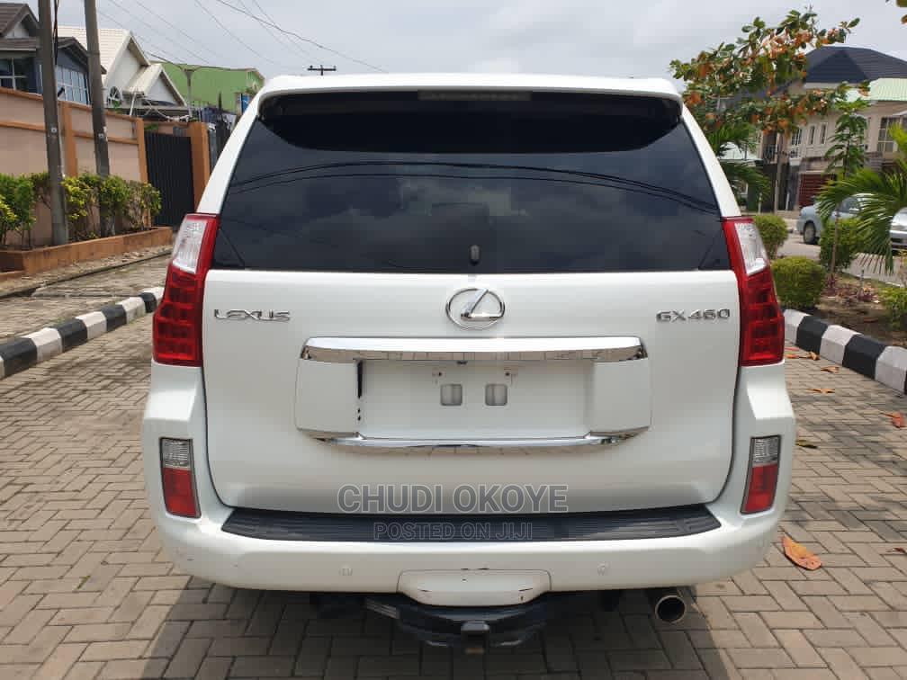 Lexus GX 2012 460 Premium White | Cars for sale in Amuwo-Odofin, Lagos State, Nigeria