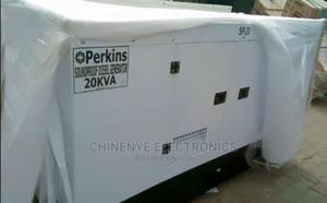 Original 20kva Perkins Soundproof Diesel Generator | Electrical Equipment for sale in Lagos State, Ojo