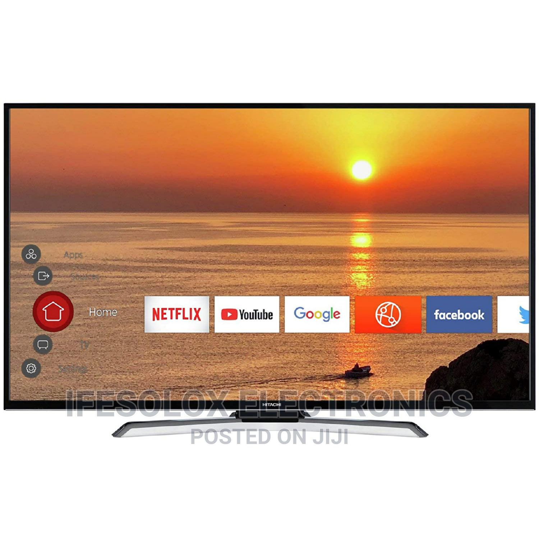 43 Inch Hitachi Smart UHD LED TV 43HE4000U - London Used