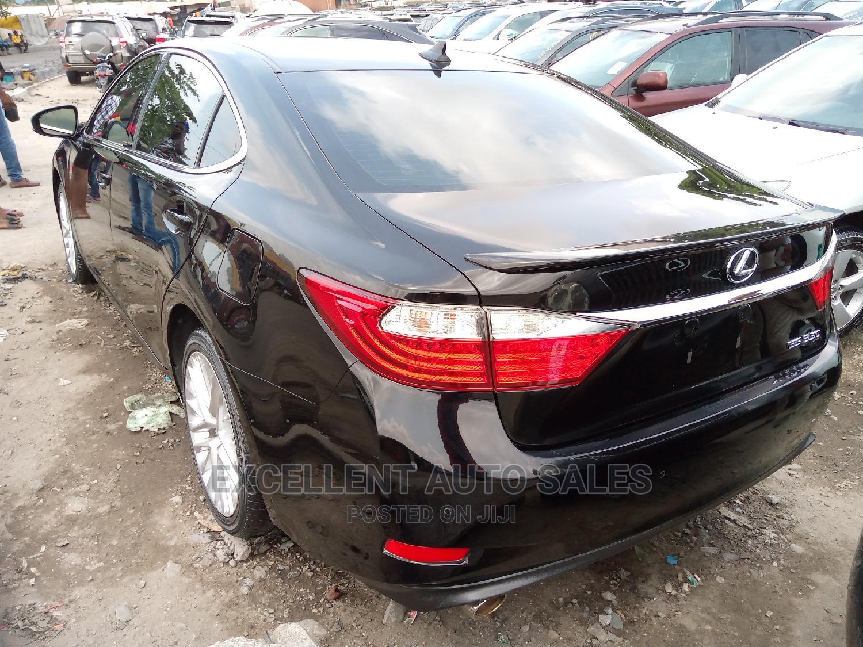 Lexus ES 2015 350 FWD Black | Cars for sale in Apapa, Lagos State, Nigeria