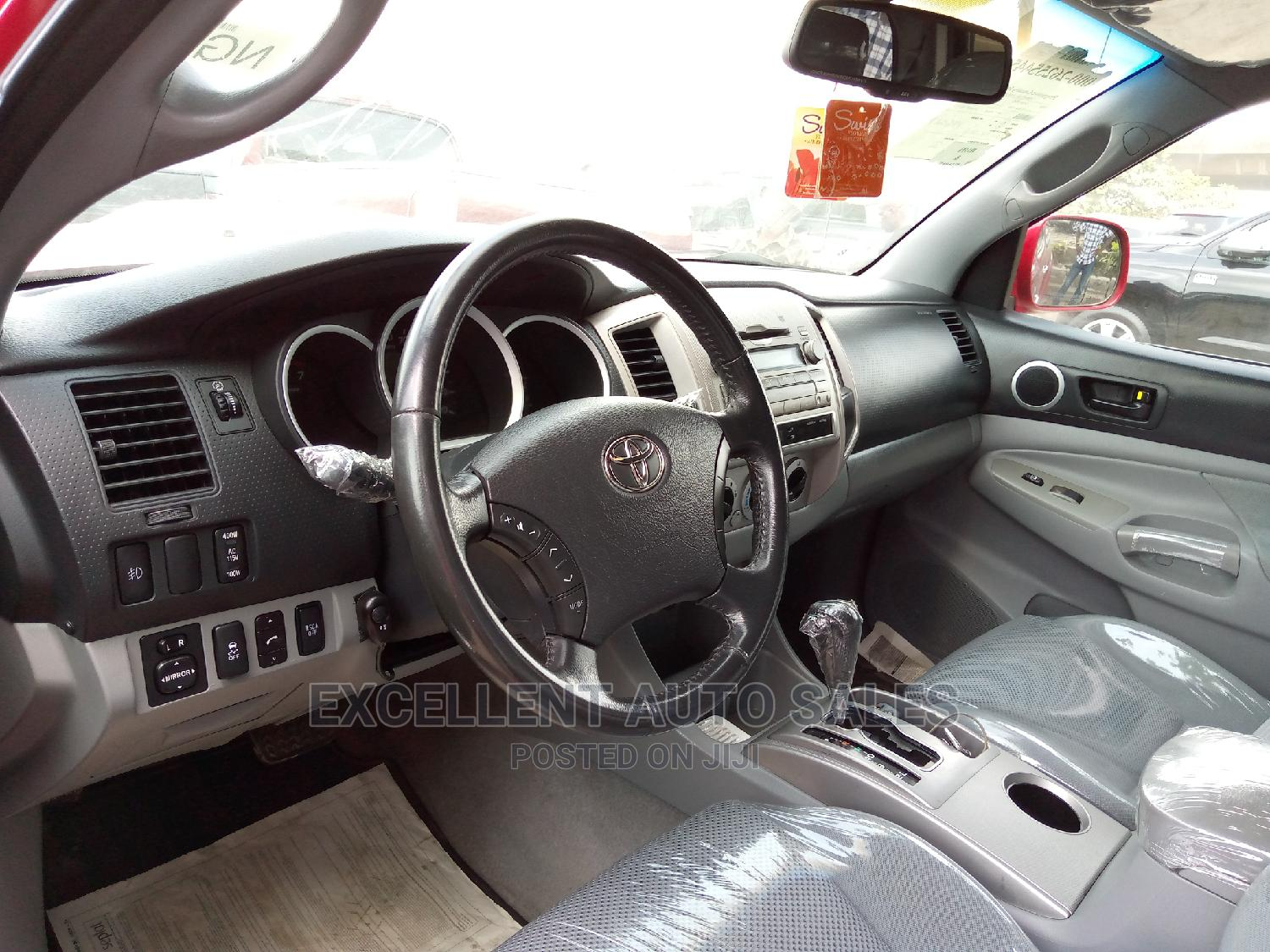 Toyota Tacoma 2010 Access Cab V6 Red | Cars for sale in Apapa, Lagos State, Nigeria
