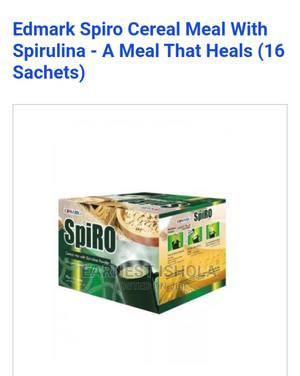 Spiro Cereal Mix With Spirulina Powder   Vitamins & Supplements for sale in Lagos State, Ikeja