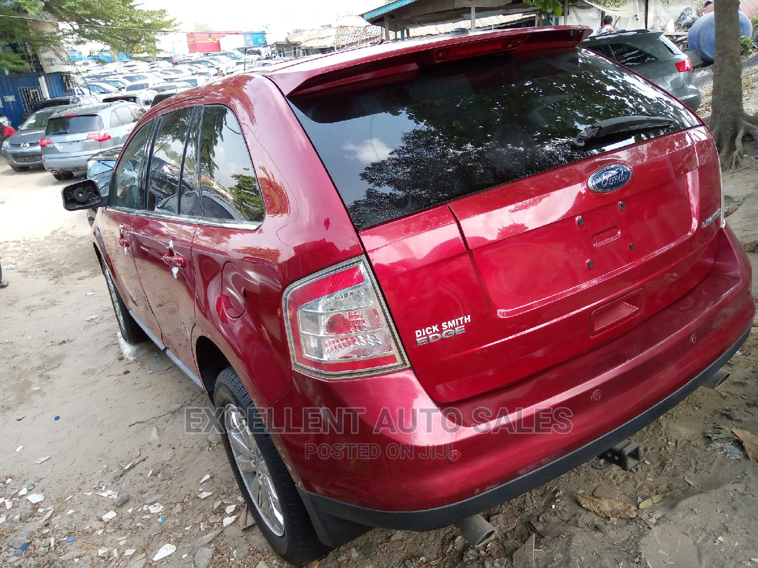 Ford Edge 2008 Red | Cars for sale in Apapa, Lagos State, Nigeria