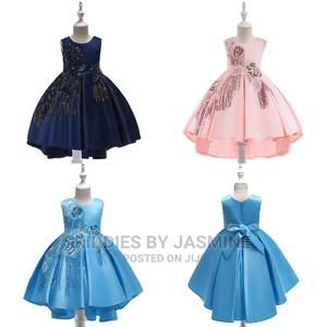 Girl High Low Gown With Droppies | Children's Clothing for sale in Lagos State, Alimosho