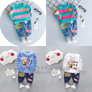 Baby Boy 2 Piece Set With Jeans | Children's Clothing for sale in Lagos State, Alimosho