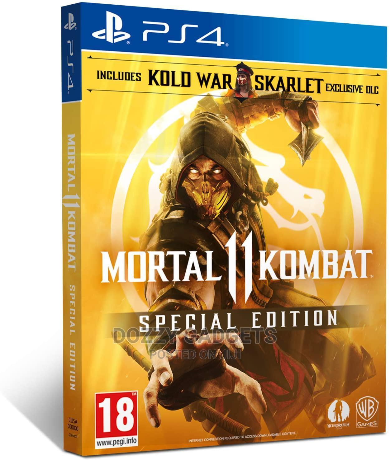 Ps4 -mortal Kombat 11 Ultimate