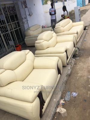 Leather Sofa Chair   Furniture for sale in Lagos State, Ojo