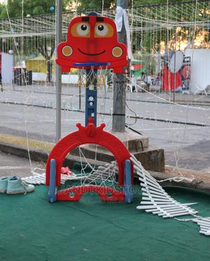 Children Basket Ball Hoop Plastic Playground Set | Toys for sale in Abuja (FCT) State, Gwarinpa