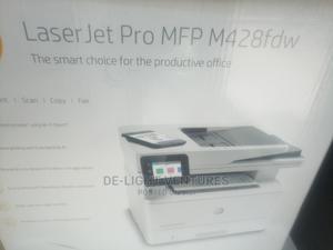 HP Laserjet Pro Mfp M428fdw Printer   Printers & Scanners for sale in Lagos State, Ikeja