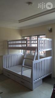 Trio Wooden Bunk Bed White | Furniture for sale in Lagos State, Ikeja