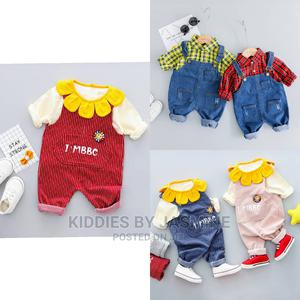 Unisex Baby Dungarees Set   Children's Clothing for sale in Lagos State, Alimosho