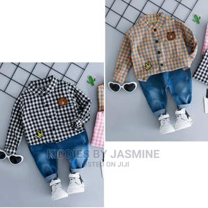 Boy 2piece Set With Jeans | Children's Clothing for sale in Lagos State, Alimosho
