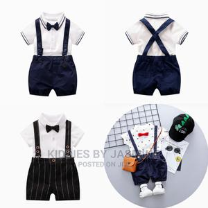 Boy Birthday Set With Suspenders | Children's Clothing for sale in Lagos State, Alimosho